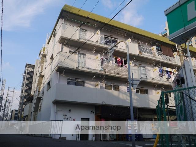 兵庫県神戸市東灘区、甲南山手駅徒歩13分の築42年 4階建の賃貸マンション