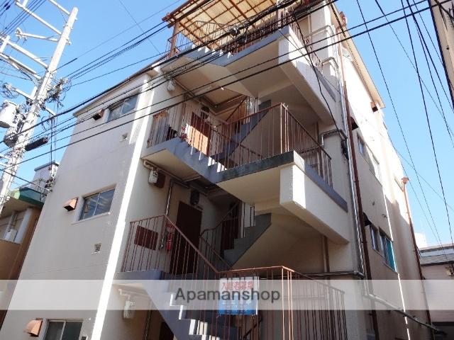 兵庫県神戸市東灘区、甲南山手駅徒歩16分の築48年 4階建の賃貸マンション