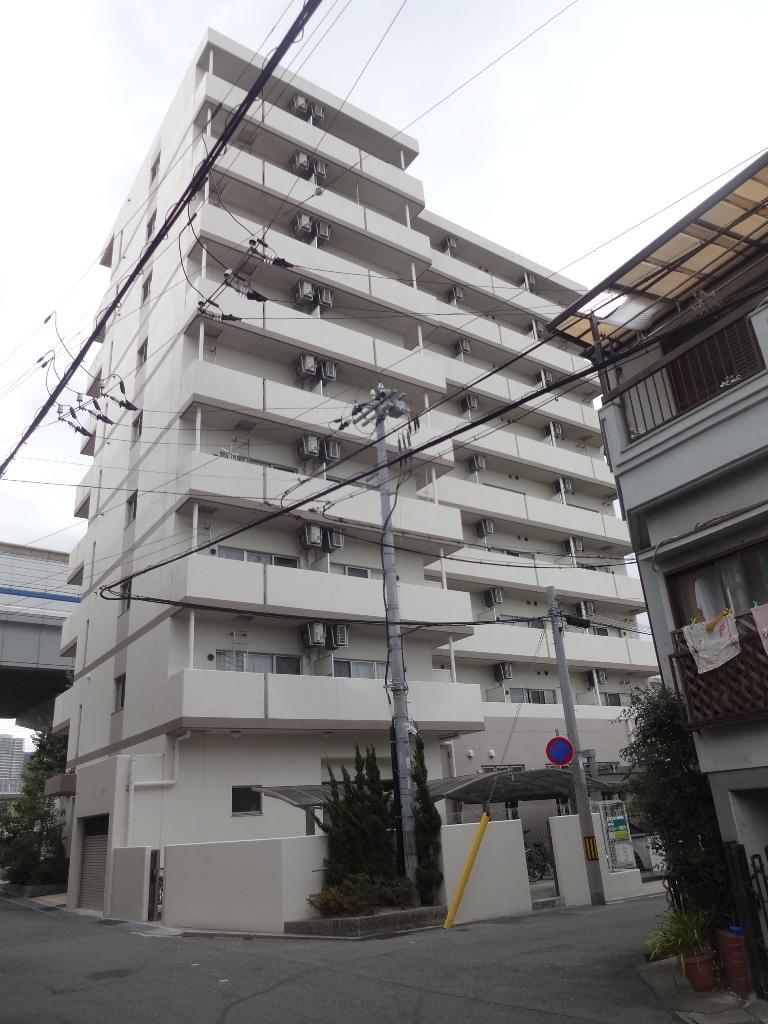 兵庫県神戸市東灘区、魚崎駅徒歩8分の築5年 9階建の賃貸マンション