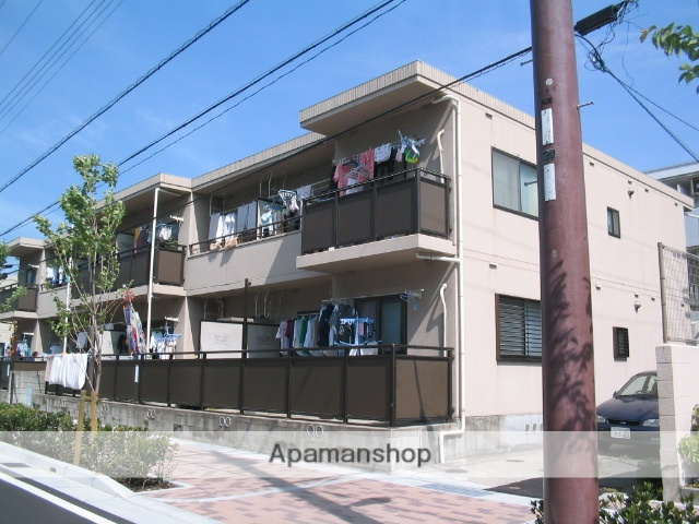兵庫県西宮市、さくら夙川駅徒歩2分の築20年 2階建の賃貸マンション