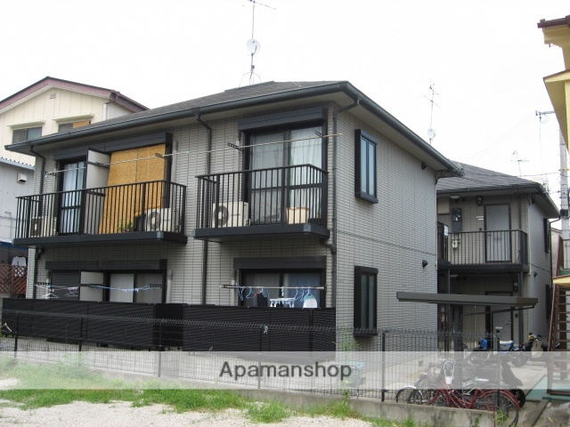 兵庫県宝塚市、仁川駅徒歩16分の築19年 2階建の賃貸アパート