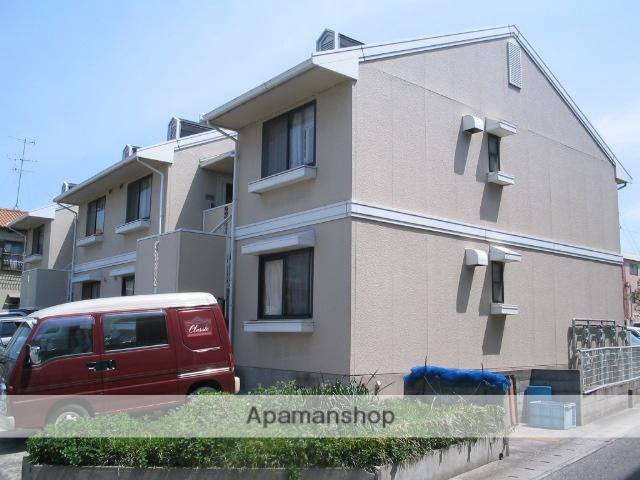 兵庫県西宮市、甲子園口駅徒歩19分の築29年 2階建の賃貸アパート