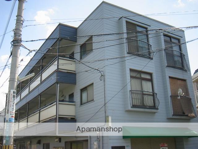 兵庫県西宮市、夙川駅徒歩11分の築35年 3階建の賃貸マンション