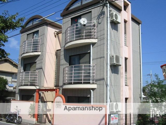 兵庫県西宮市、夙川駅徒歩24分の築29年 3階建の賃貸マンション