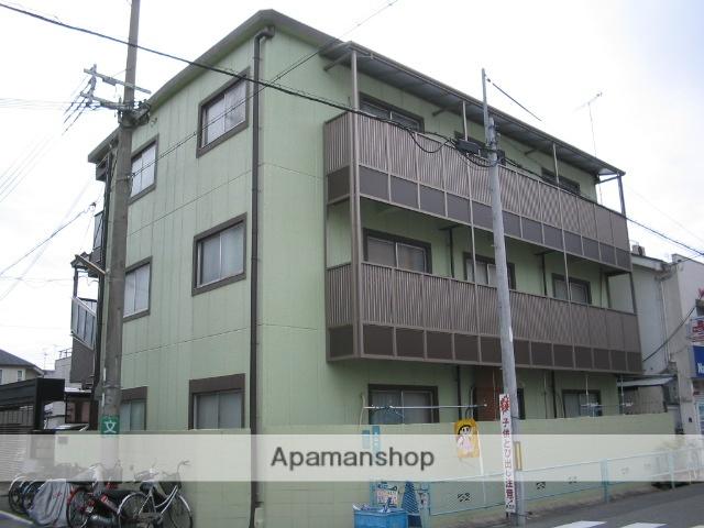 兵庫県西宮市、甲子園口駅徒歩12分の築43年 3階建の賃貸マンション