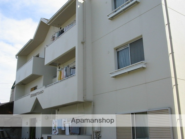 兵庫県西宮市、さくら夙川駅徒歩3分の築26年 3階建の賃貸マンション
