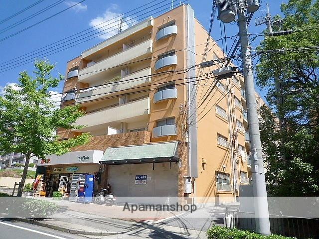 兵庫県芦屋市、芦屋駅徒歩20分の築45年 5階建の賃貸マンション