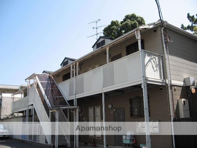 兵庫県西宮市、さくら夙川駅徒歩11分の築22年 2階建の賃貸アパート