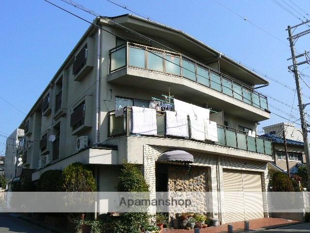 兵庫県西宮市、夙川駅徒歩23分の築30年 3階建の賃貸マンション