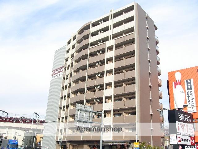 兵庫県宝塚市、宝塚駅徒歩5分の築9年 11階建の賃貸マンション