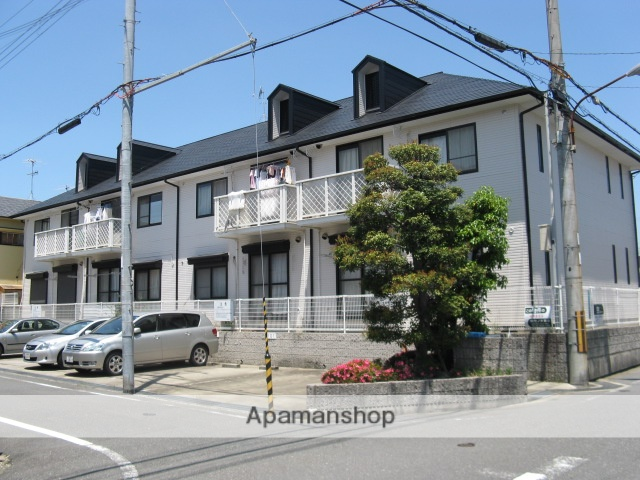 兵庫県伊丹市、猪名寺駅徒歩15分の築24年 2階建の賃貸アパート