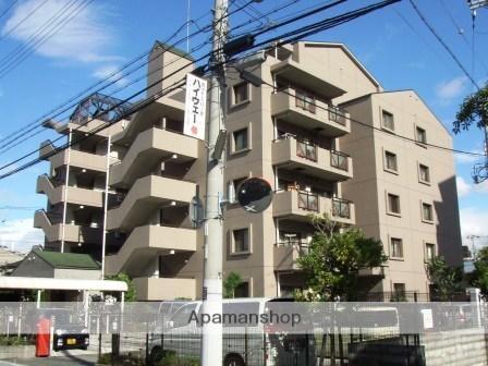 兵庫県神戸市東灘区、青木駅徒歩15分の築19年 7階建の賃貸マンション
