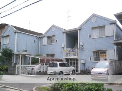 兵庫県西宮市、西宮駅徒歩15分の築28年 2階建の賃貸アパート