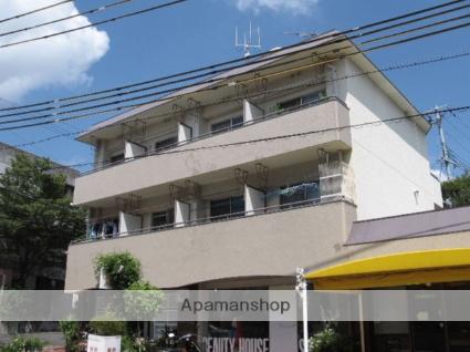 兵庫県西宮市、夙川駅徒歩17分の築37年 3階建の賃貸マンション