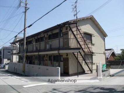 兵庫県西宮市、夙川駅徒歩20分の築48年 2階建の賃貸アパート