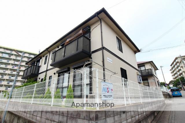 兵庫県明石市、朝霧駅徒歩28分の築21年 2階建の賃貸アパート