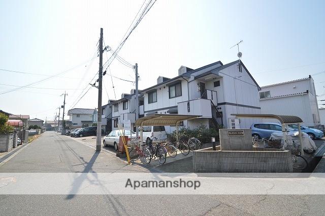 兵庫県明石市、魚住駅徒歩9分の築21年 2階建の賃貸アパート