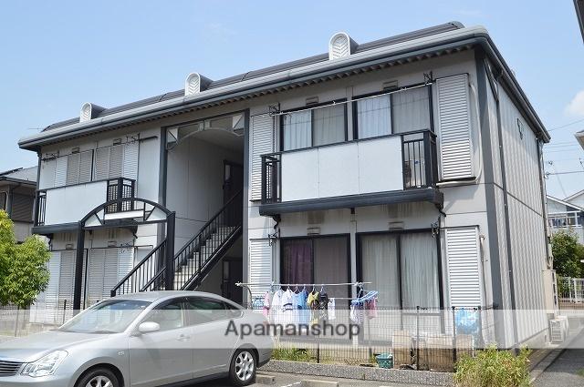 兵庫県明石市、魚住駅徒歩23分の築23年 2階建の賃貸アパート
