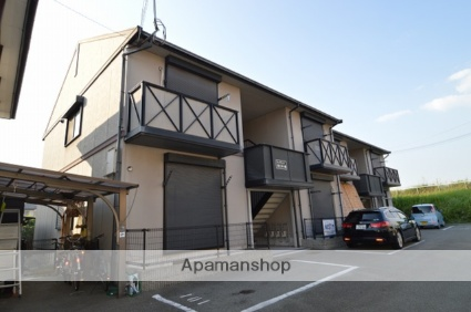 兵庫県明石市、江井ヶ島駅徒歩20分の築19年 2階建の賃貸アパート