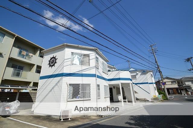 兵庫県明石市、西明石駅徒歩15分の築27年 2階建の賃貸アパート
