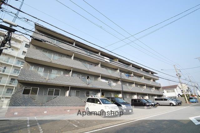 兵庫県神戸市西区、明石駅バス15分住宅前下車後徒歩10分の築27年 4階建の賃貸マンション