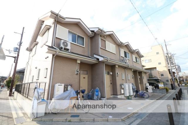 兵庫県尼崎市、尼崎駅徒歩10分の築12年 2階建の賃貸テラスハウス