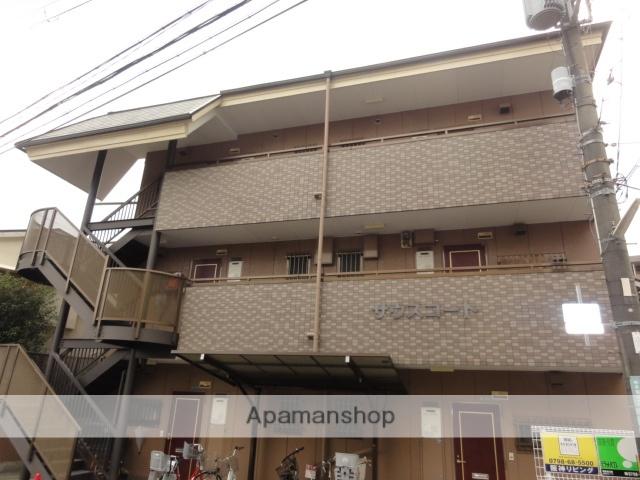 兵庫県西宮市、甲子園口駅徒歩14分の築20年 3階建の賃貸マンション