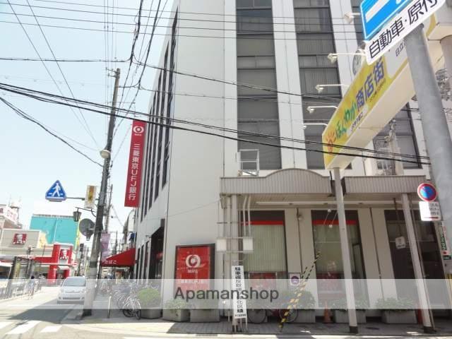 三菱UFJ銀行 502m