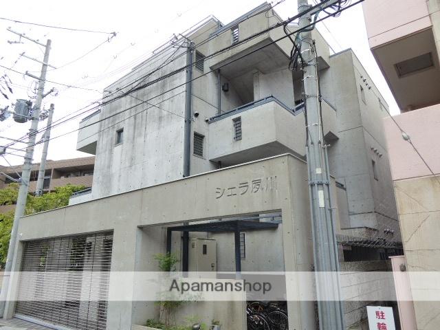 兵庫県西宮市、さくら夙川駅徒歩10分の築18年 3階建の賃貸マンション