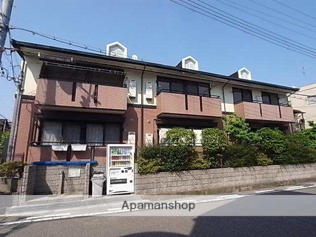 兵庫県西宮市、武庫川駅徒歩18分の築20年 2階建の賃貸アパート