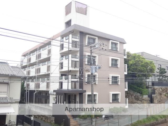 兵庫県西宮市、さくら夙川駅徒歩14分の築33年 4階建の賃貸マンション
