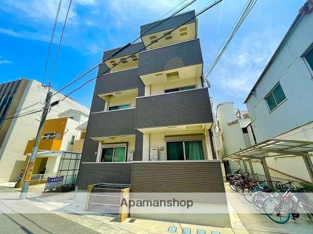 兵庫県尼崎市、尼崎センタープール前駅徒歩13分の築1年 3階建の賃貸アパート
