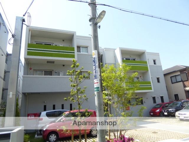 兵庫県西宮市、甲子園口駅徒歩7分の築1年 3階建の賃貸マンション