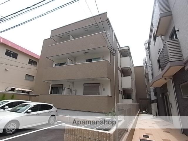 兵庫県尼崎市、尼崎駅徒歩3分の新築 3階建の賃貸アパート