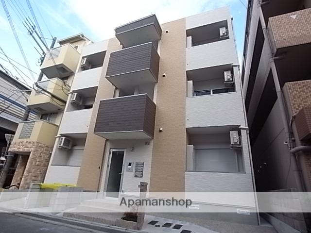 兵庫県西宮市、今津駅徒歩10分の新築 3階建の賃貸アパート