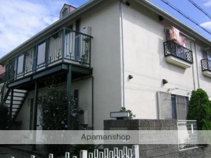 兵庫県西宮市、甲子園駅徒歩15分の築27年 2階建の賃貸アパート