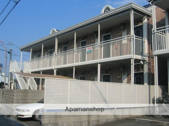 兵庫県西宮市、東鳴尾駅徒歩6分の築25年 2階建の賃貸アパート