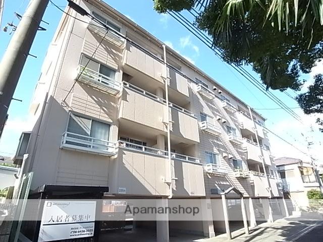 兵庫県尼崎市、尼崎駅徒歩13分の築23年 4階建の賃貸マンション