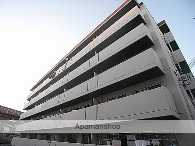 兵庫県尼崎市、園田駅徒歩18分の築24年 5階建の賃貸マンション