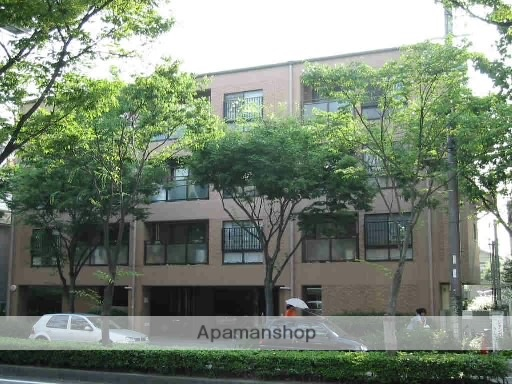 兵庫県尼崎市、立花駅市バスバス15分北図書館下車後徒歩3分の築21年 4階建の賃貸マンション