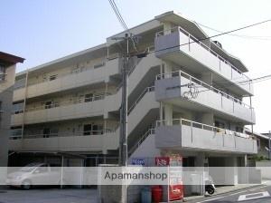 兵庫県尼崎市、立花駅市バスバス20分富松3下車後徒歩8分の築27年 4階建の賃貸マンション
