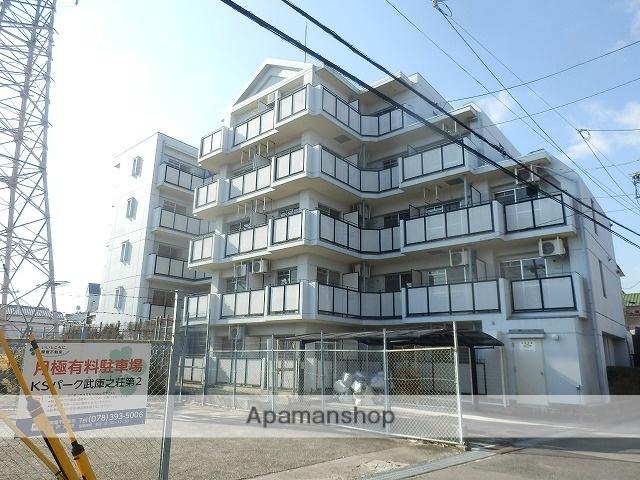 兵庫県尼崎市、塚口駅徒歩28分の築26年 5階建の賃貸マンション