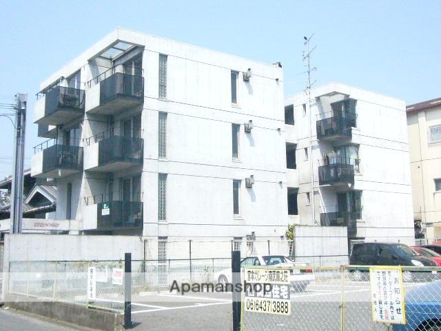 兵庫県尼崎市、立花駅徒歩27分の築31年 4階建の賃貸マンション