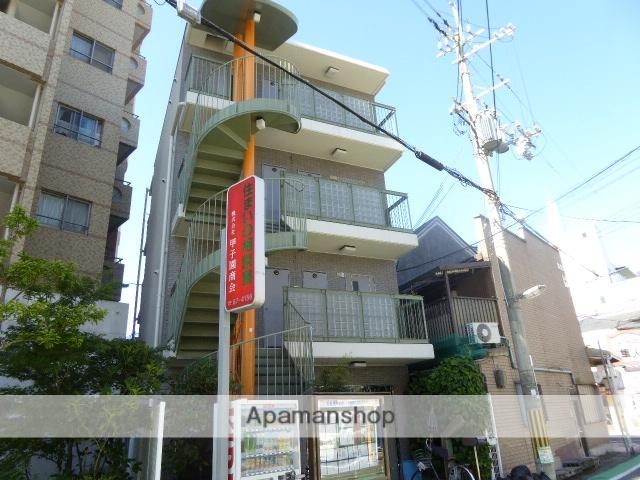 兵庫県西宮市、甲子園口駅徒歩1分の築20年 4階建の賃貸マンション