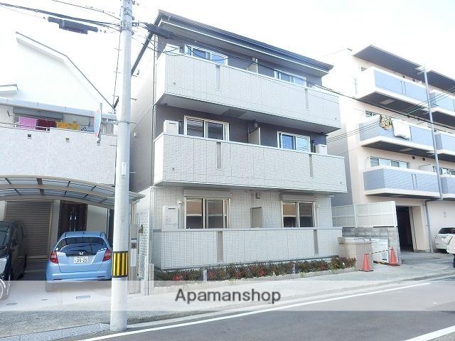 兵庫県尼崎市、立花駅徒歩18分の新築 3階建の賃貸アパート