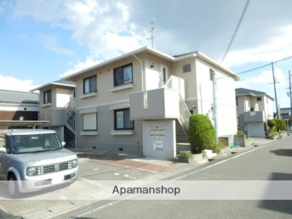 兵庫県伊丹市、武庫之荘駅徒歩22分の築25年 2階建の賃貸アパート