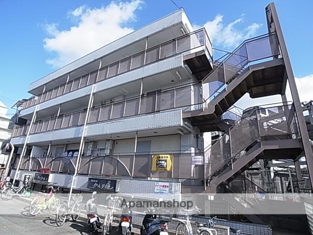 兵庫県尼崎市、立花駅徒歩12分の築27年 3階建の賃貸マンション