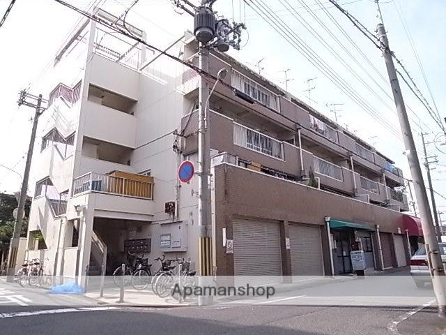 兵庫県尼崎市、尼崎センタープール前駅徒歩16分の築44年 4階建の賃貸マンション