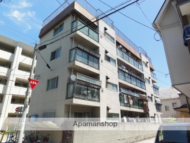 兵庫県西宮市、甲子園口駅徒歩20分の築28年 4階建の賃貸マンション