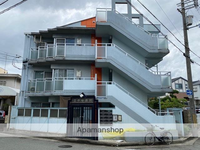 兵庫県尼崎市、尼崎駅徒歩18分の築28年 3階建の賃貸マンション